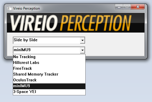 Custom Vireio Perception
