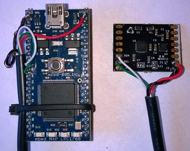 coreMPU with NXP LPC1768 Mbed