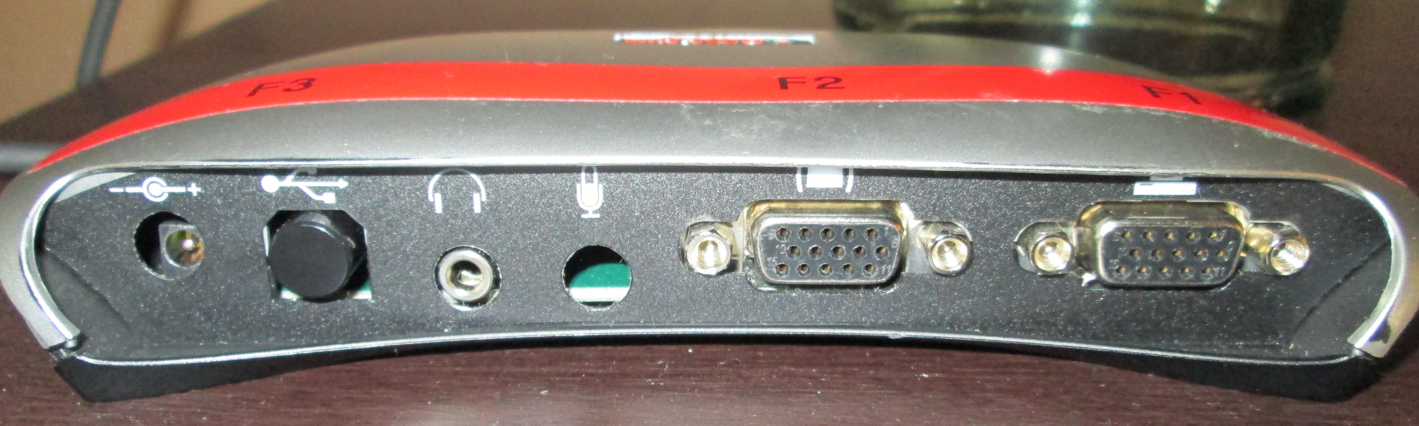 dual input board eMagin Tekgear