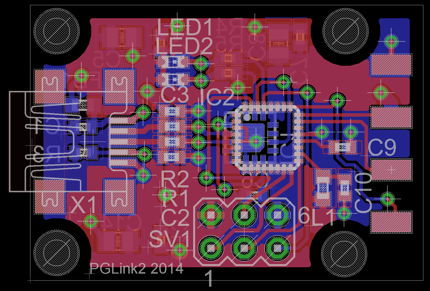 PGLink2 PCB