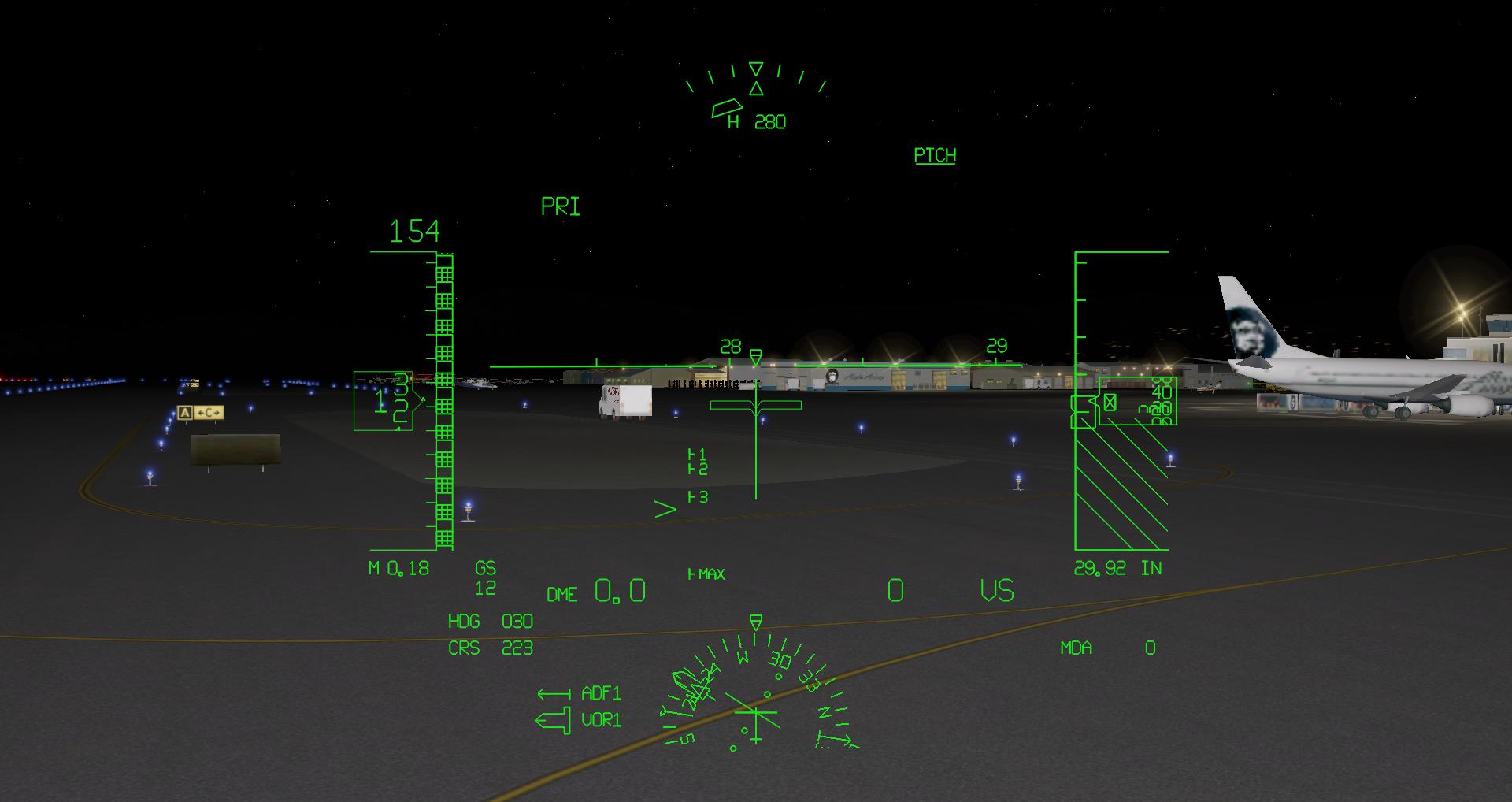 Airport overlay