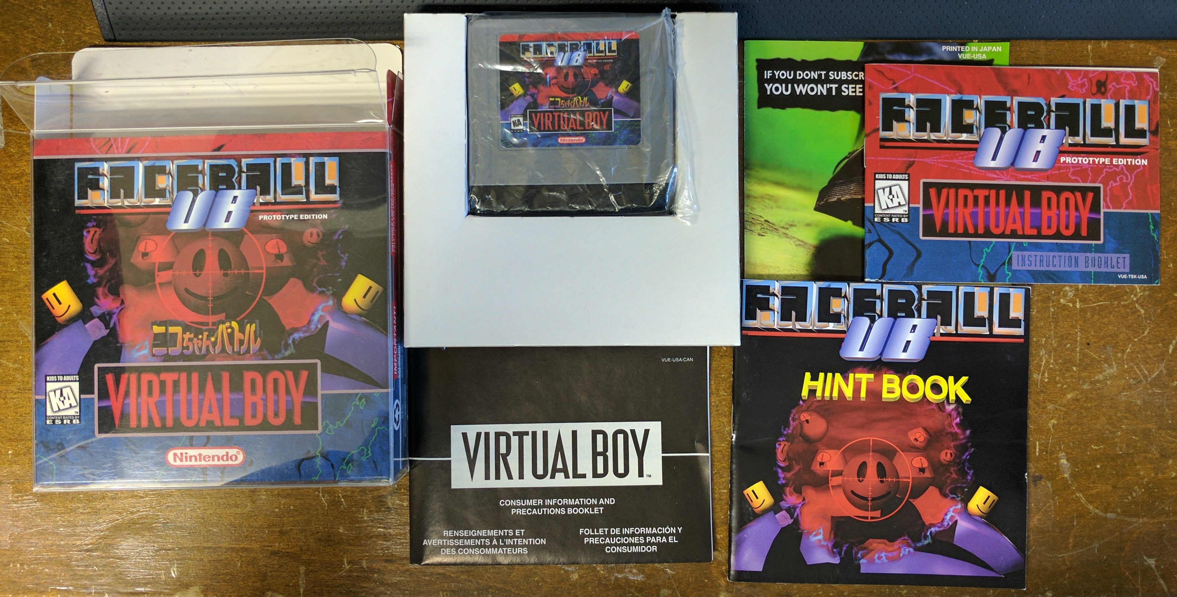 Faceball VB CIB